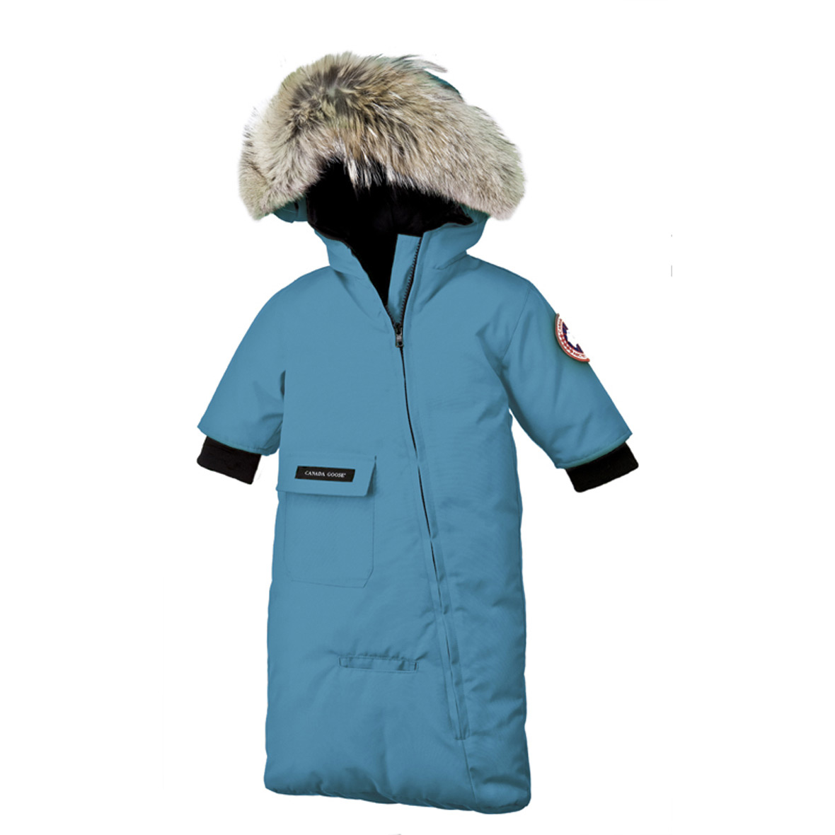 f904047a2961 Canada Goose Infant  3M-12M  Bunting BLUE TOPAZ