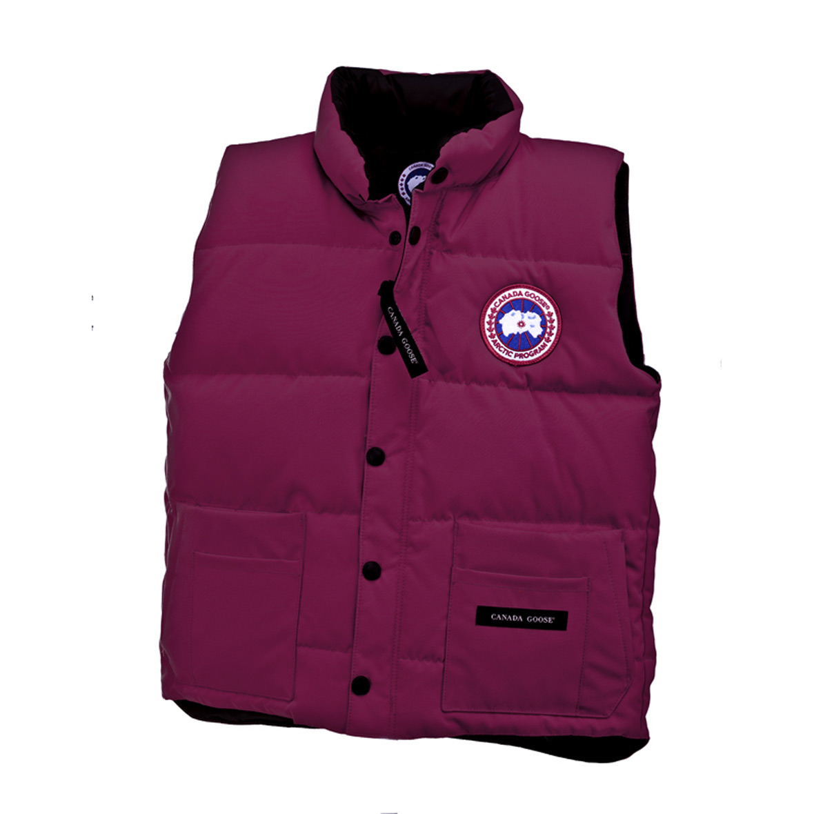 Canada Goose Junior [4-20] Freestyle Vest BERRY