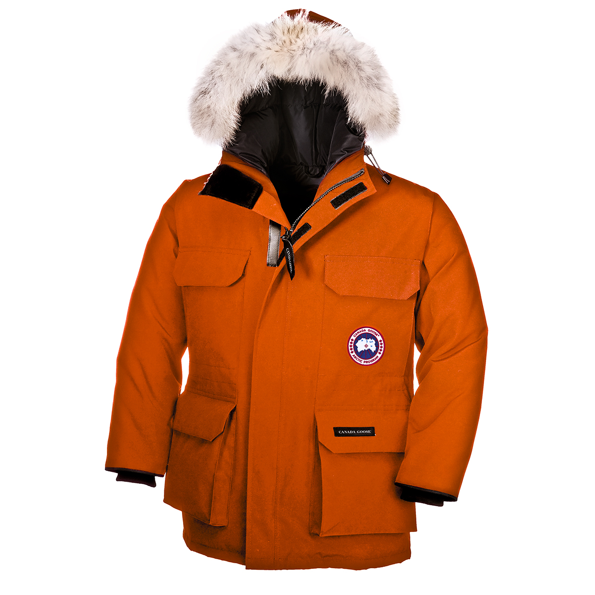 Canada Goose Junior [4-20] Expedition Parka SUNSET ORANGE