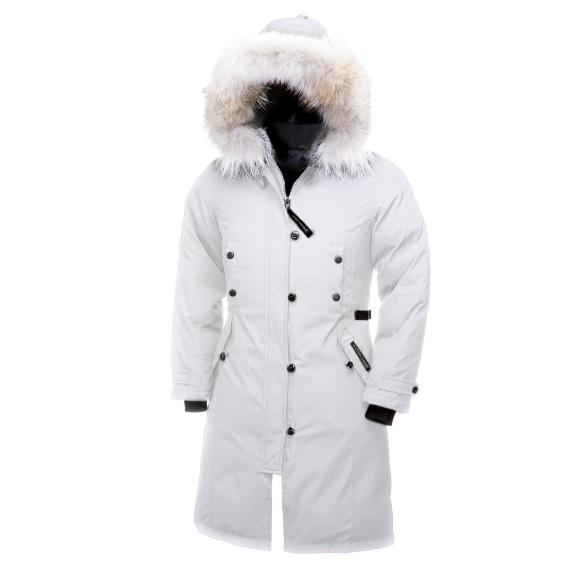 Canada Goose Kensington Parka WHITE For Women