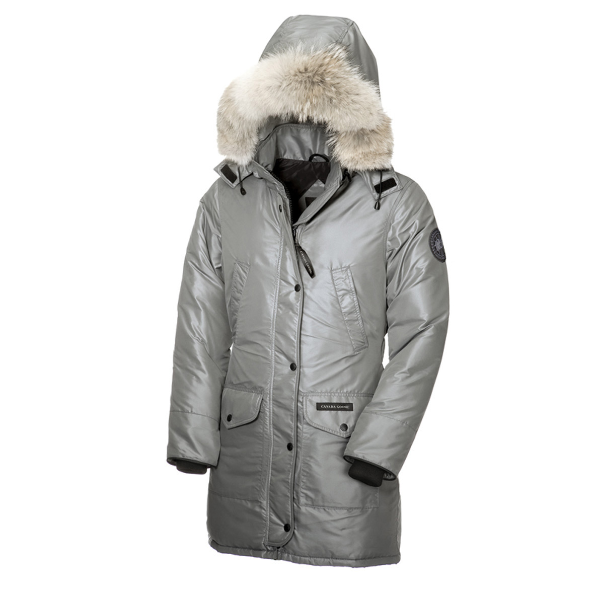 Canada Goose Trillium Parka Cg55 STEEL For Women