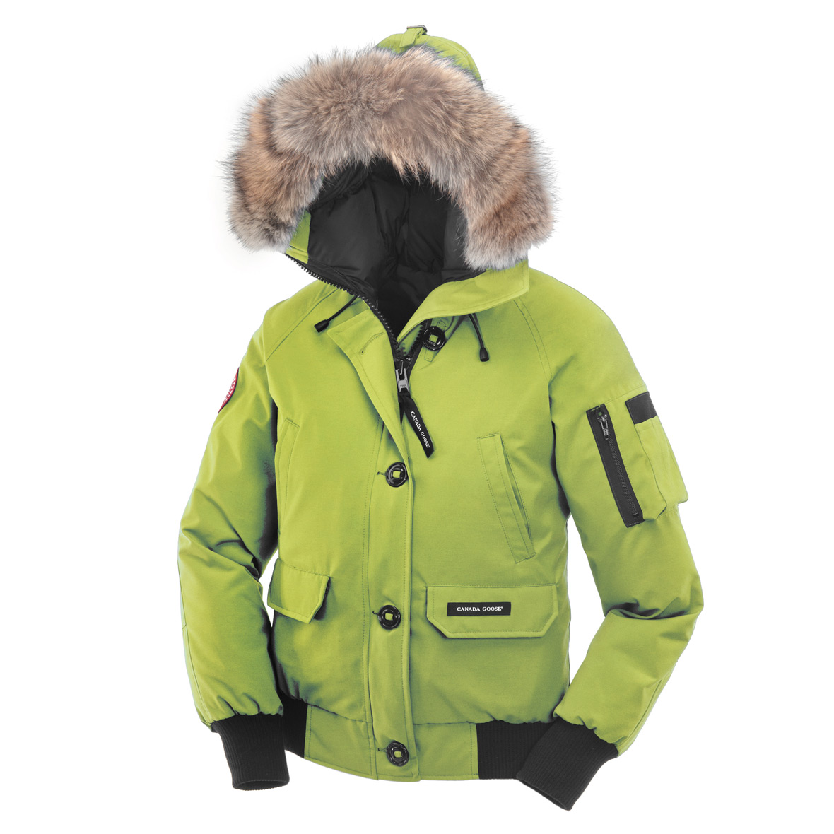 Canada Goose Chilliwack Bomber AURORA GREEN For Women