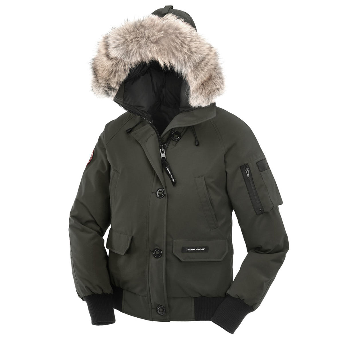 Canada Goose Chilliwack Bomber FOREST GREEN For Women