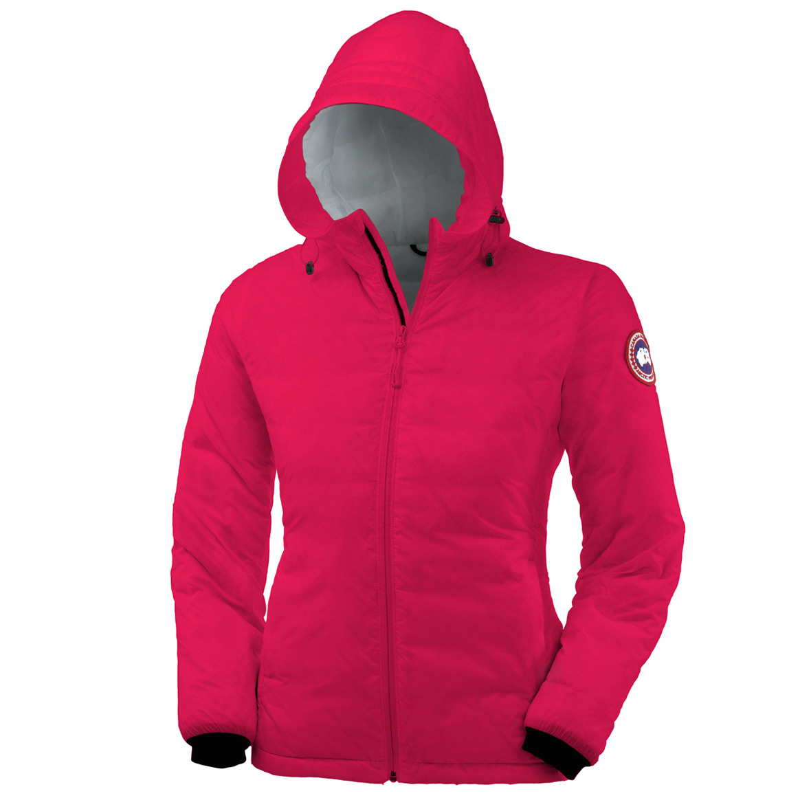 Canada Goose Camp Down Hoodie SUMMIT PINK For Women