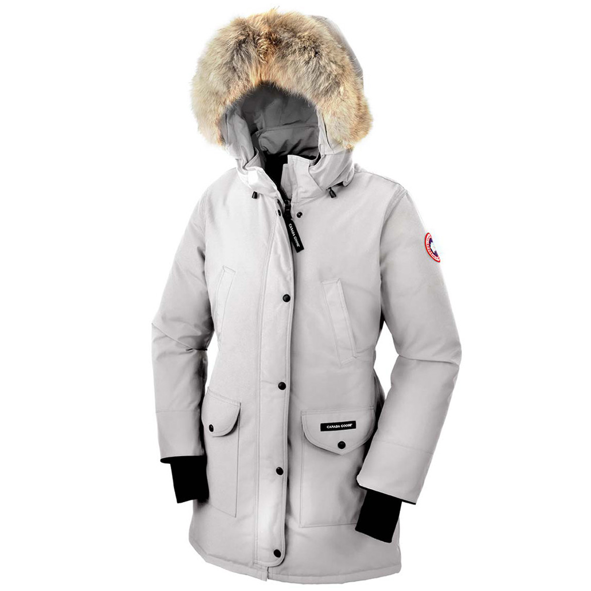 Canada Goose Trillium Parka SILVERBIRCH For Women