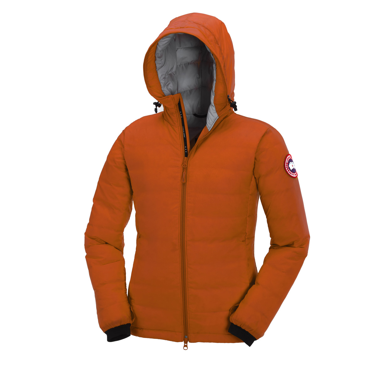 Canada Goose Camp Down Hoodie SUNSET ORANGE For Women