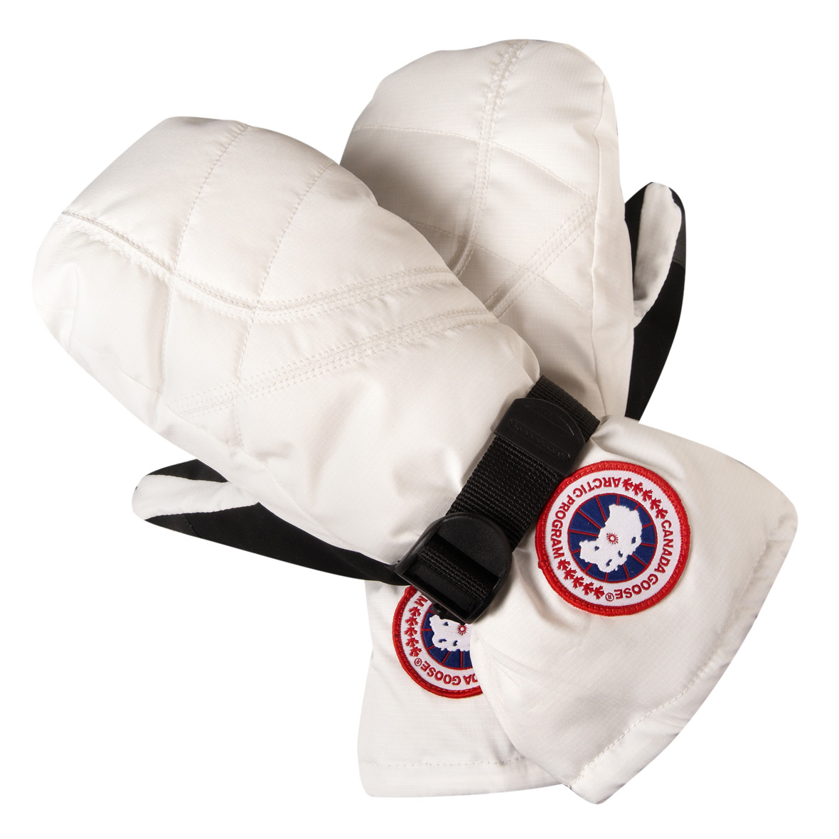 Canada Goose Down Mitt WHITE For Women
