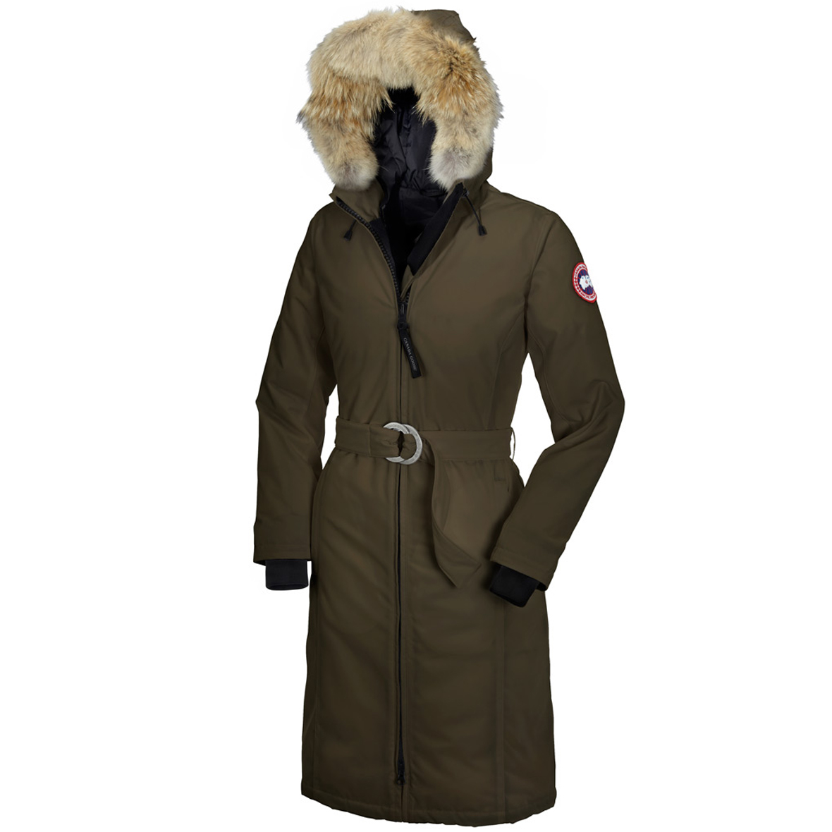 Canada Goose Whistler Parka MILITARY GREEN For Women