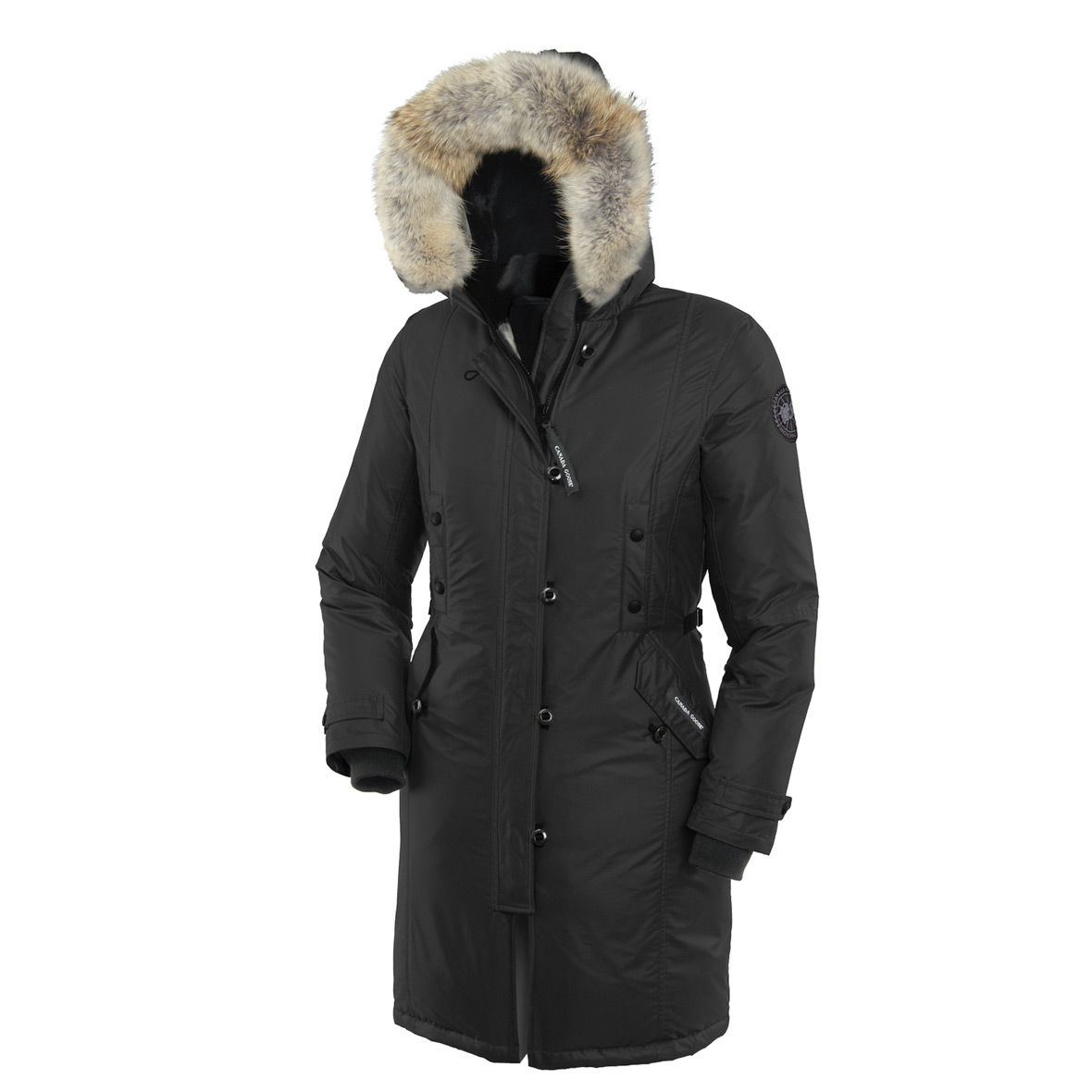 Canada Goose Cg55 Kensington Parka BLACK For Women