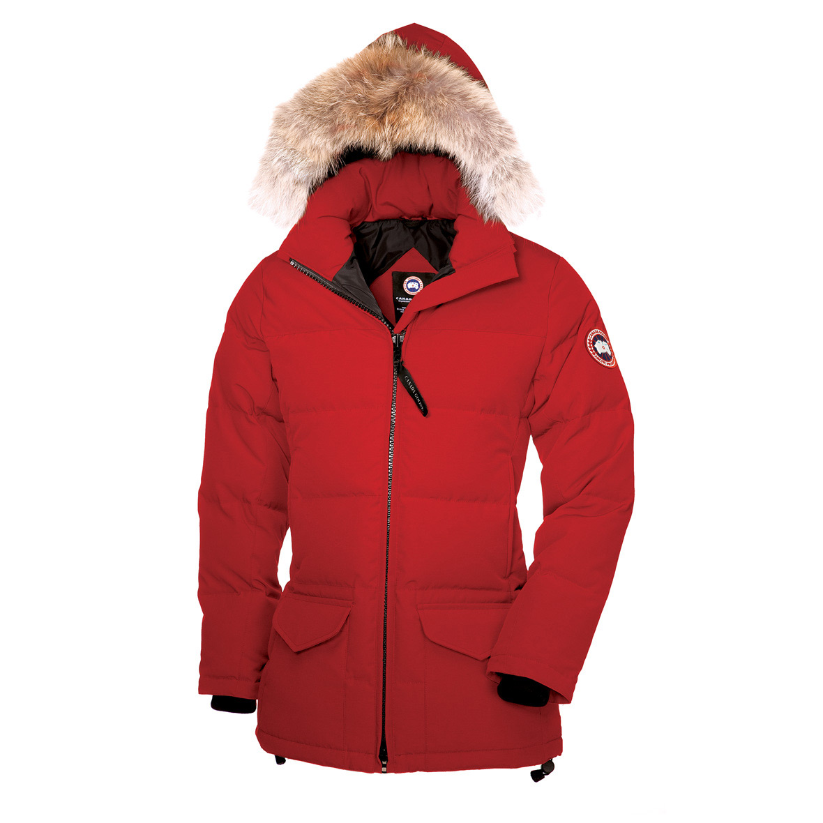Canada Goose Solaris Parka RED For Women