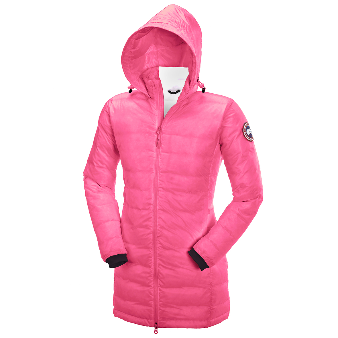 Canada Goose Camp Down Hooded Jacket SUMMIT PINK For Women