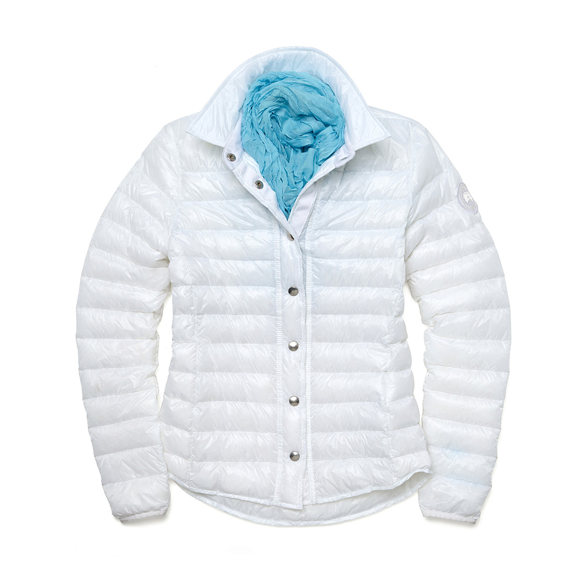 Canada Goose Beaconsfield Jacket WHITE For Women