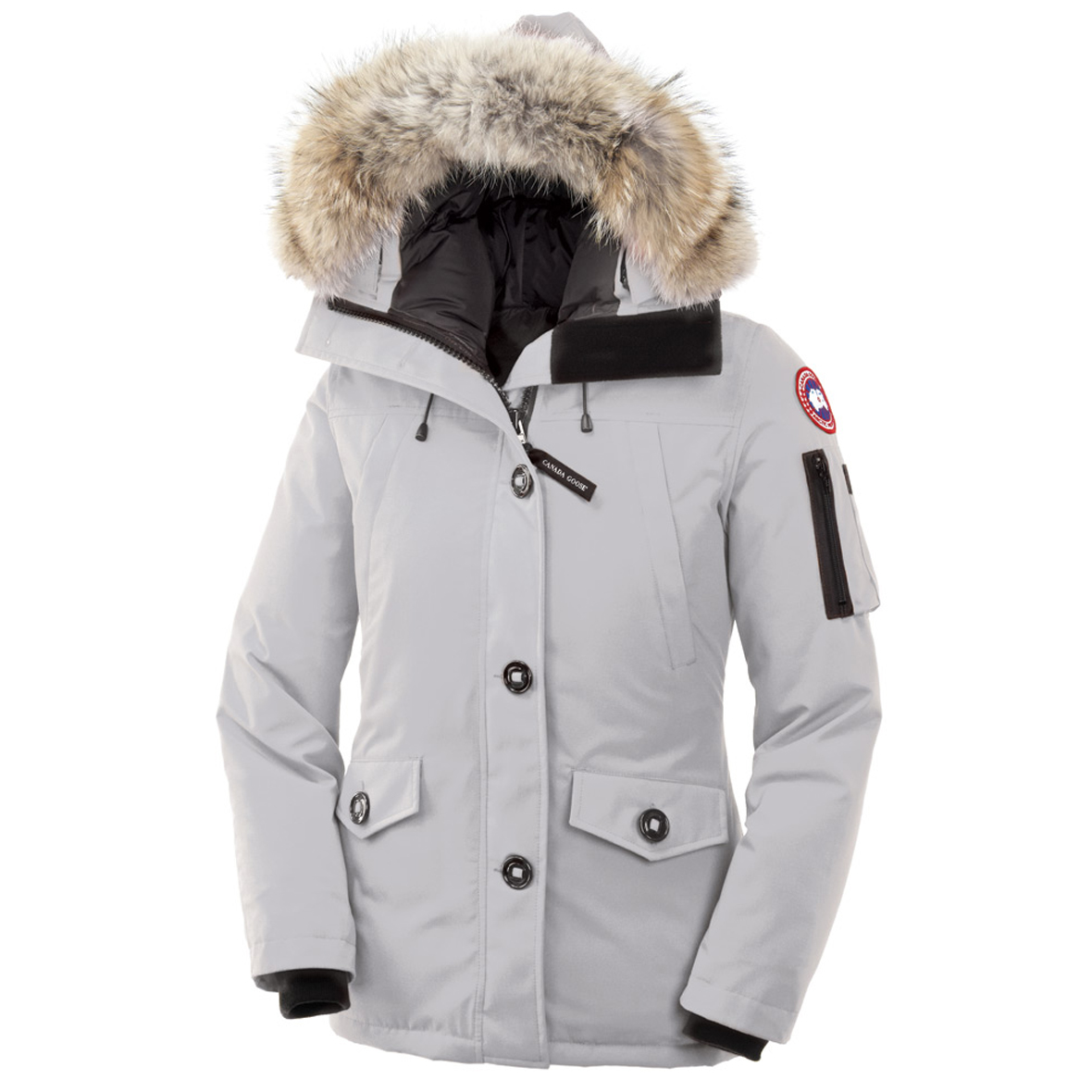 Canada Goose Montebello Parka SILVERBIRCH For Women