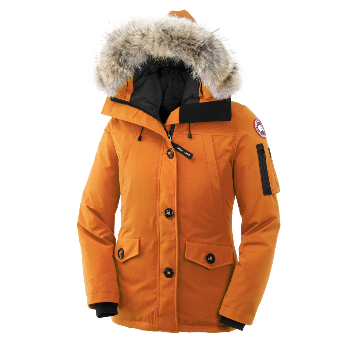 Canada Goose Montebello Parka SUNSET ORANGE For Women