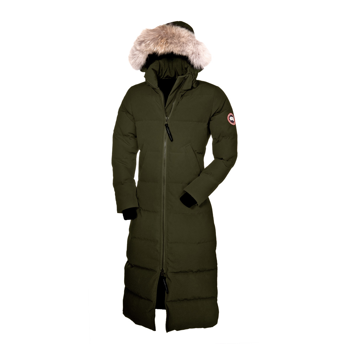 Canada Goose Mystique Parka MILITARY GREEN For Women