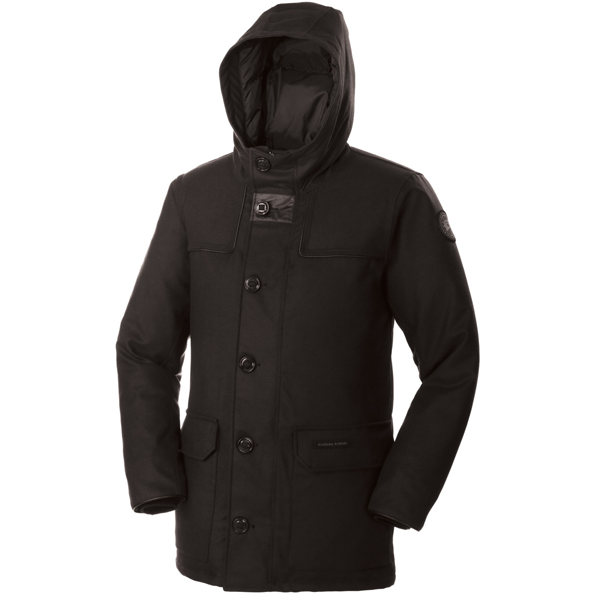 Canada Goose Bergamo Parka BLACK For Men