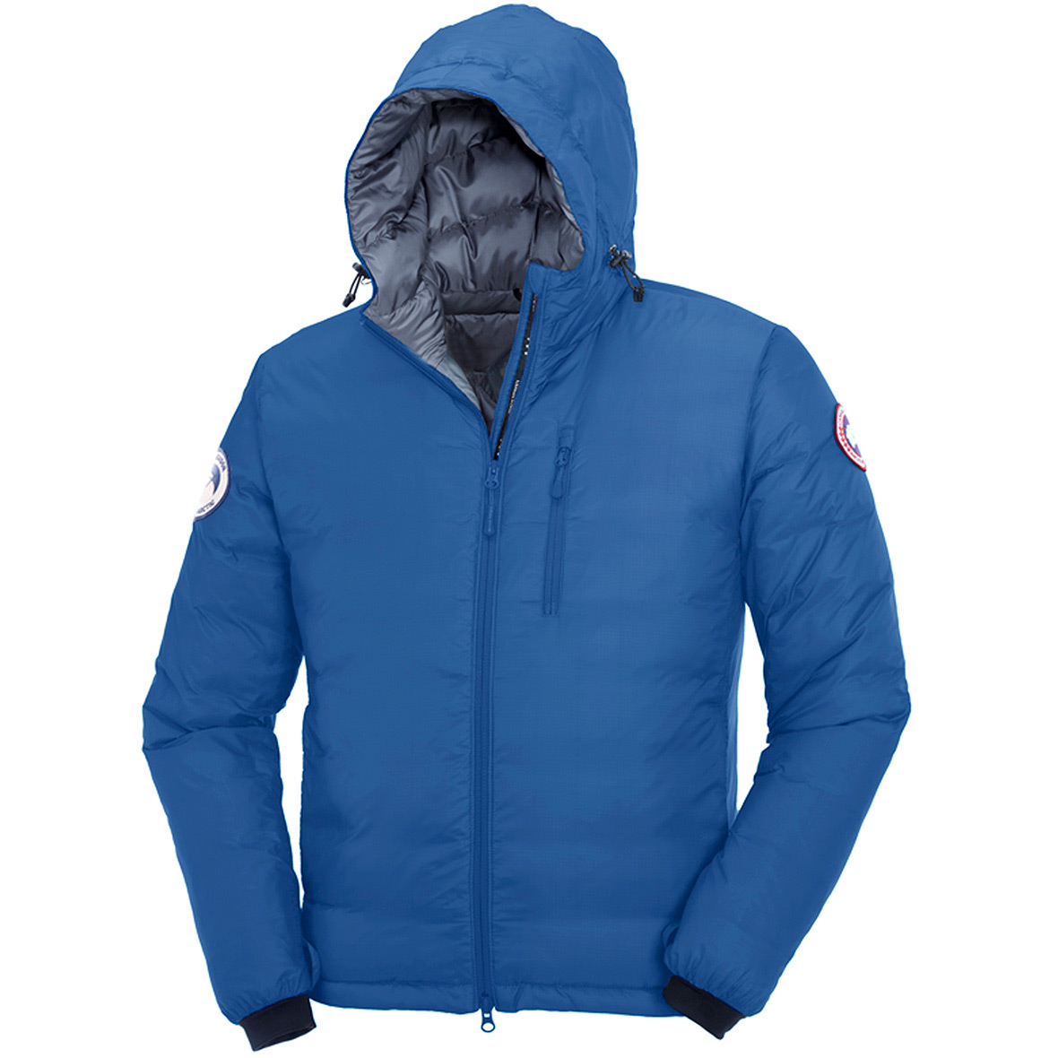 Canada Goose Pbi Lodge Hoody Jacket PBI BLUE For Men