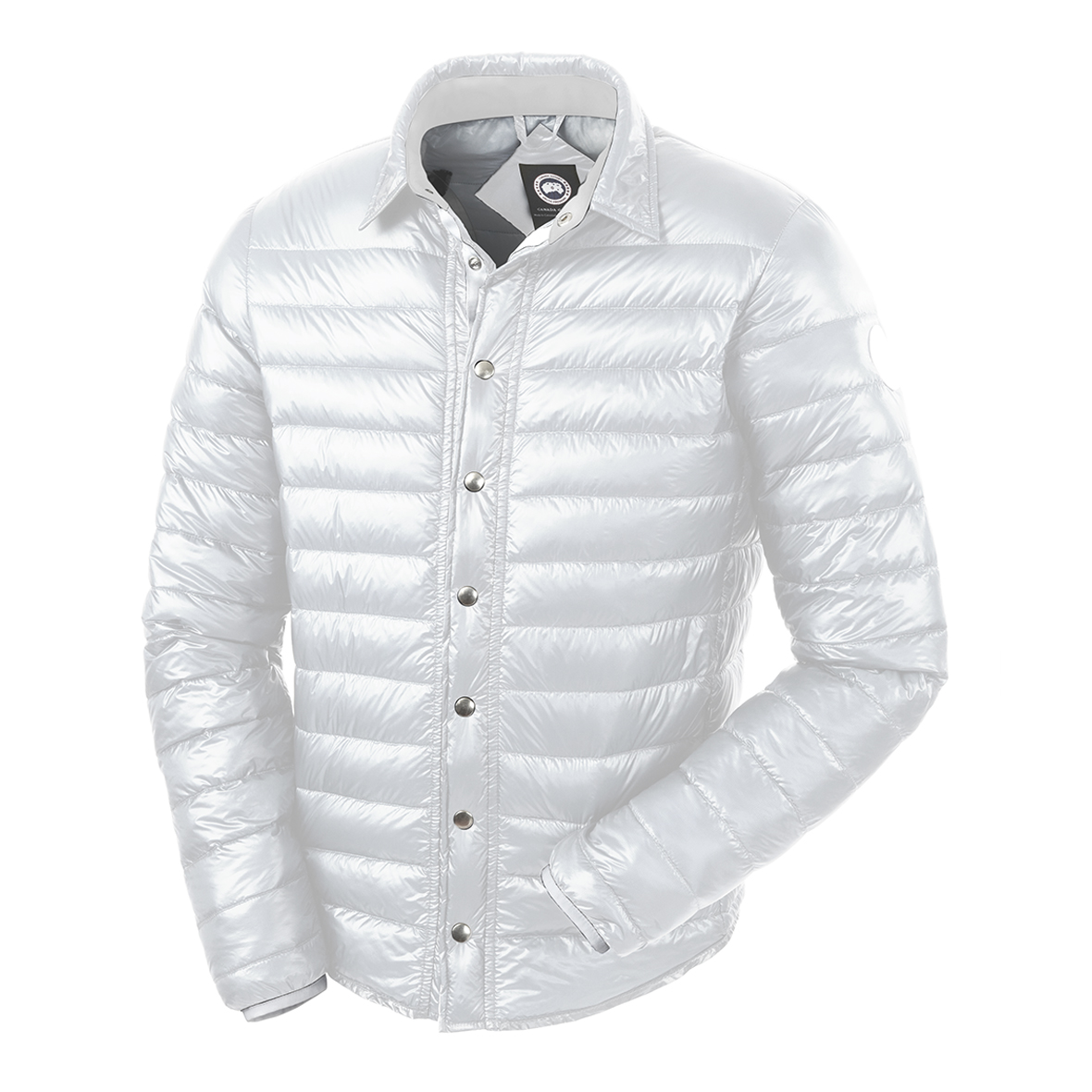 Canada Goose Beaconsfield Jacket WHITE For Men
