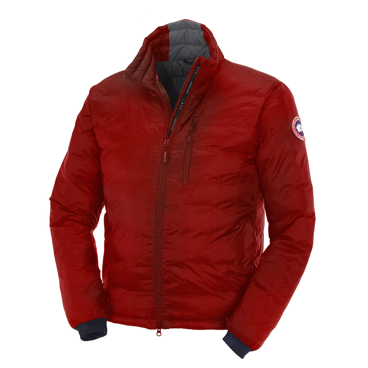 Canada Goose Lodge Down Jacket RED For Men