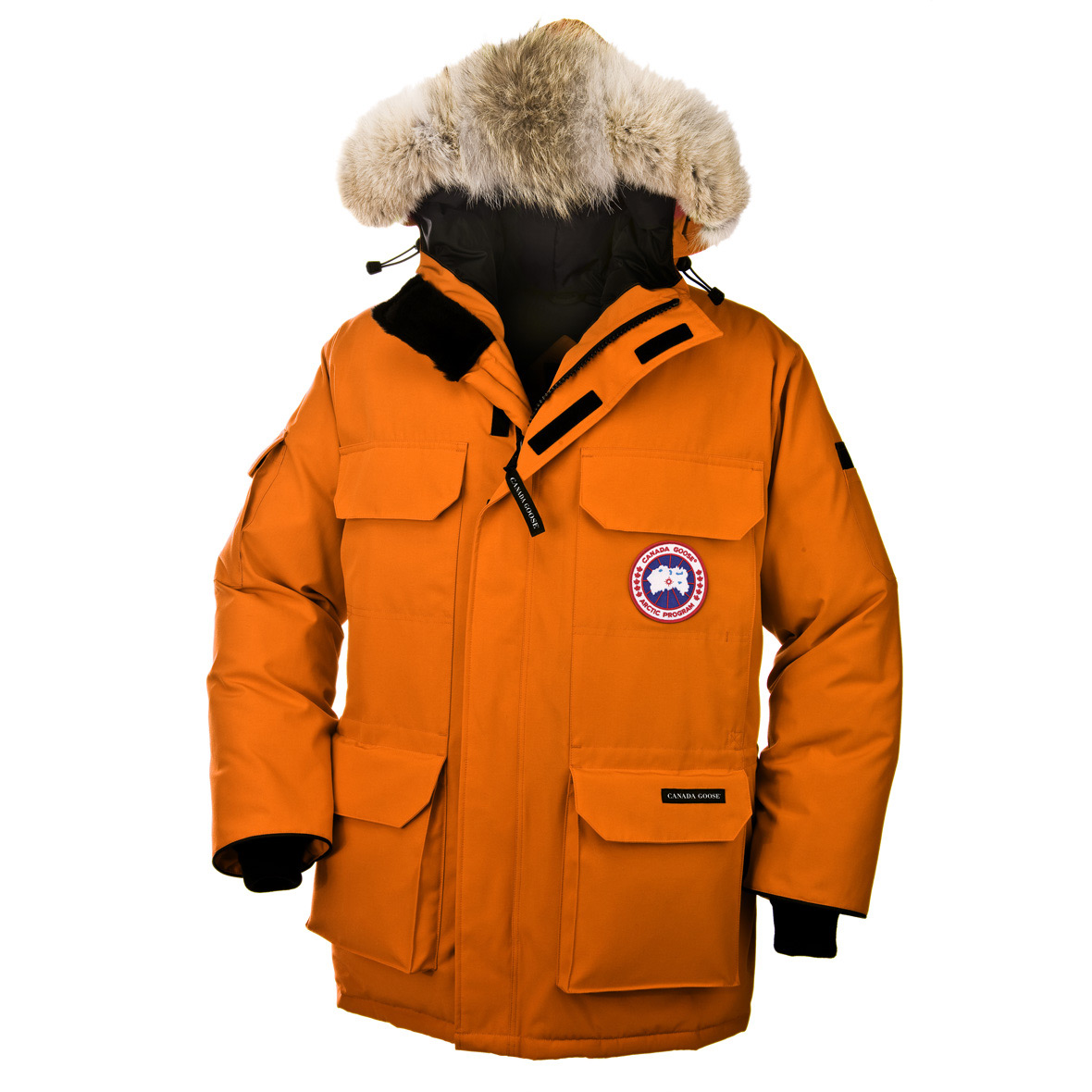 Canada Goose Expedition Parka SUNSET ORANGE For Men