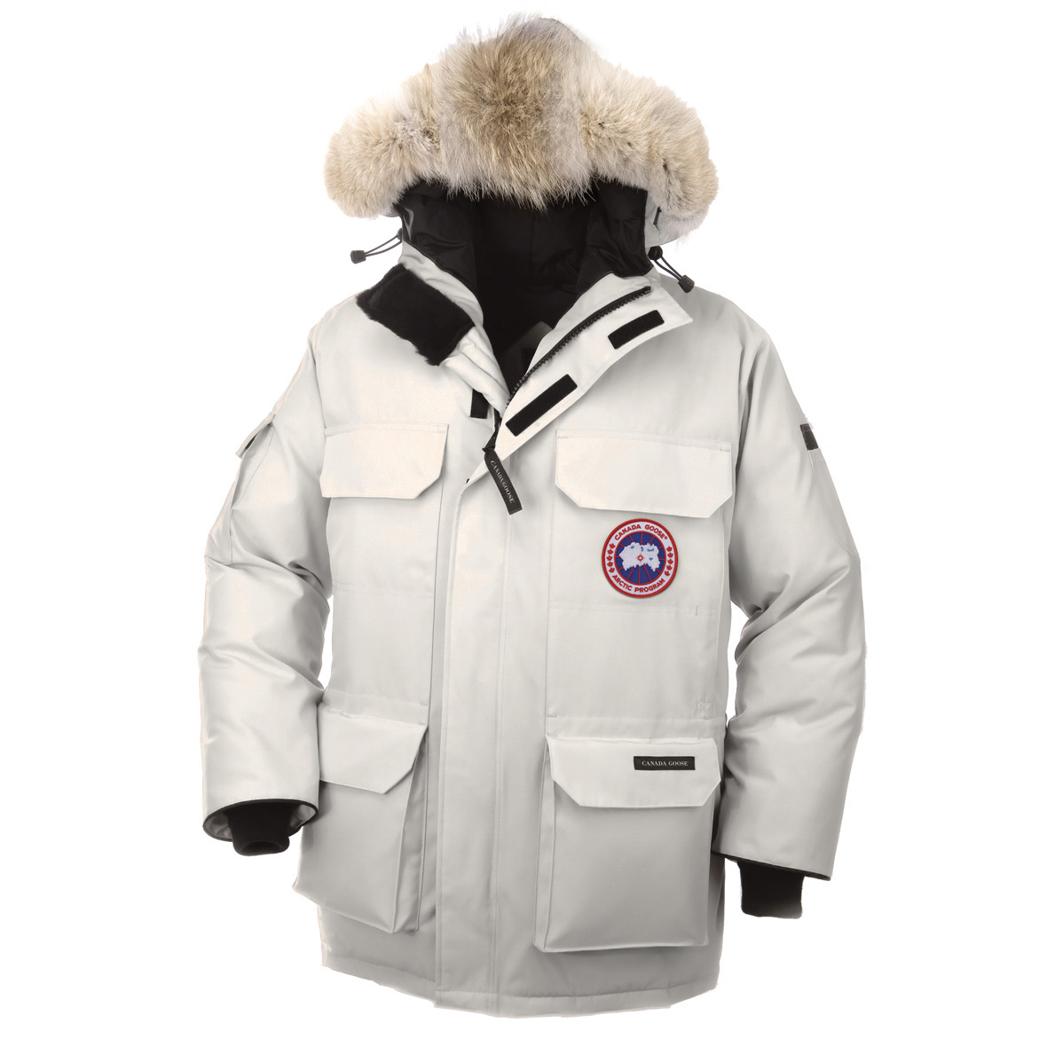 Canada Goose Expedition Parka WHITE For Men
