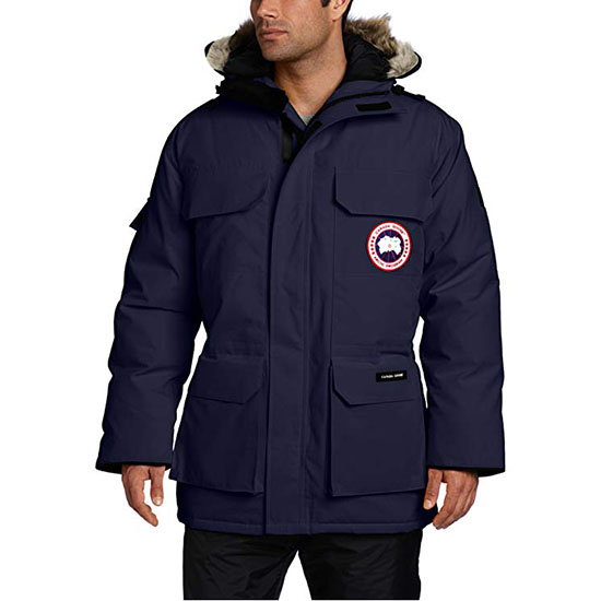 Canada Goose Mens Expedition Parka Coat Navy
