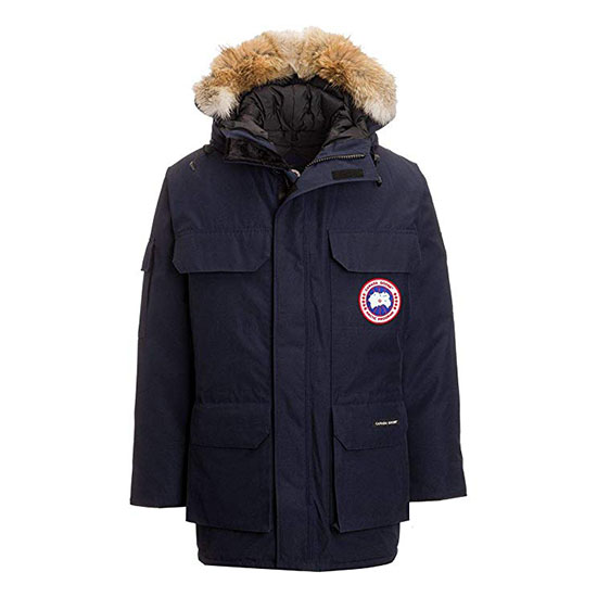 Canada Goose Mens Expedition Parka Coat Admiral Blue