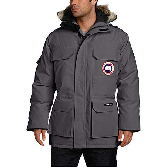 Canada Goose Mens Expedition Parka Coat Graphite