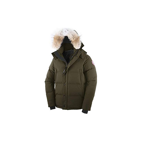 Canada Goose Mens Wyndham Parka Military Green